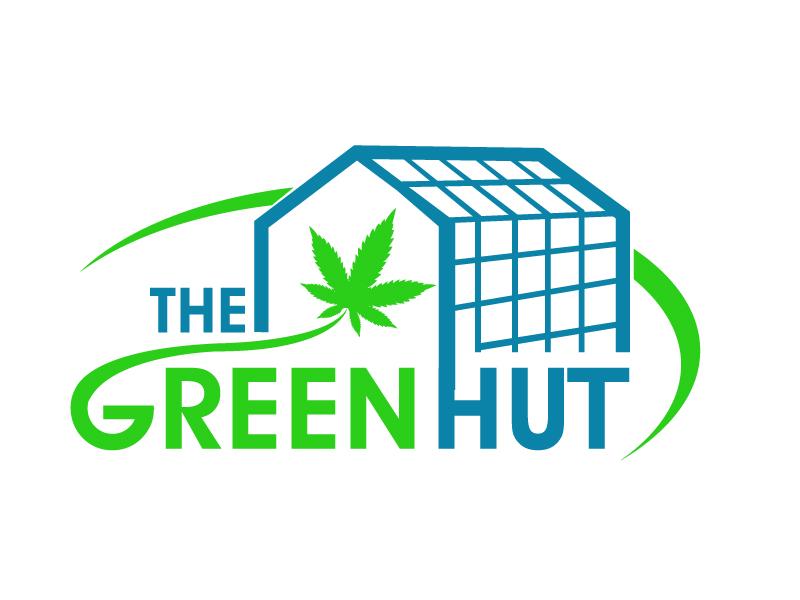 The Green Hut logo design by PMG