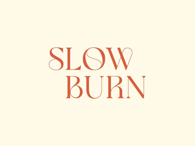 Slow Burn logo design by wongndeso
