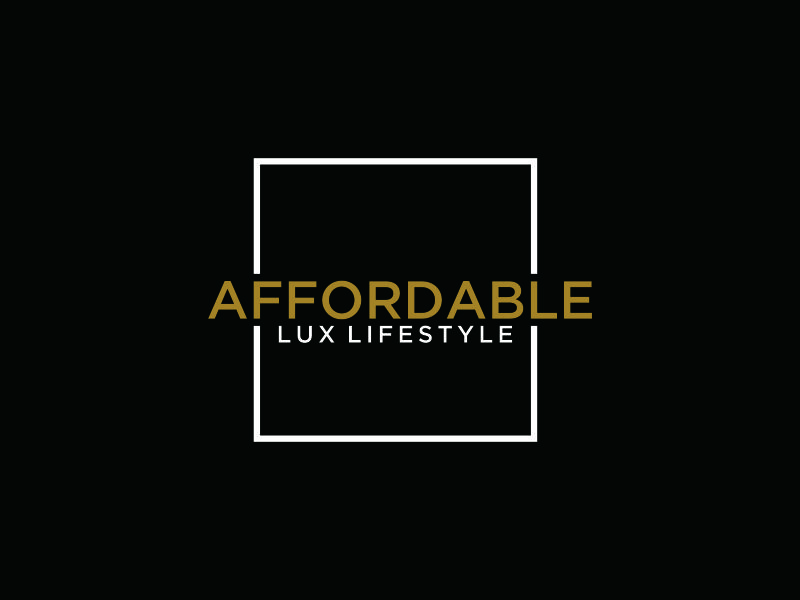 Affordable Lux Lifestyle logo design by blessings