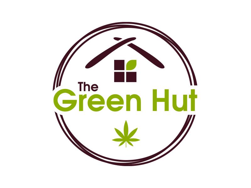 The Green Hut logo design by MarkindDesign™