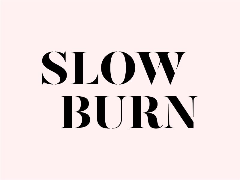 Slow Burn logo design by cintoko