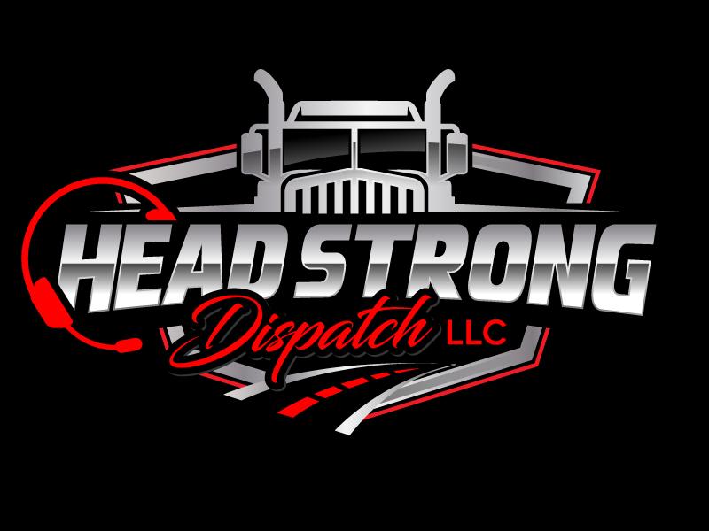 Head Strong Dispatch LLC. logo design by jaize