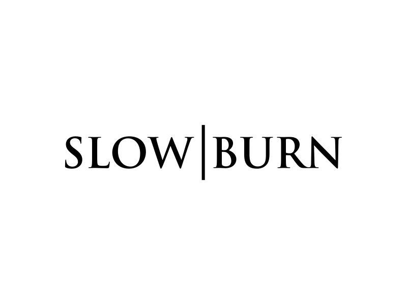 Slow Burn logo design by p0peye