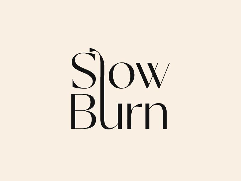 Slow Burn logo design by Janee