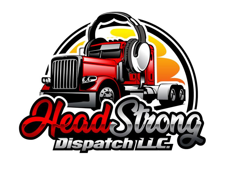 Head Strong Dispatch LLC. logo design by DreamLogoDesign