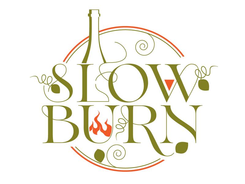 Slow Burn logo design by DreamLogoDesign
