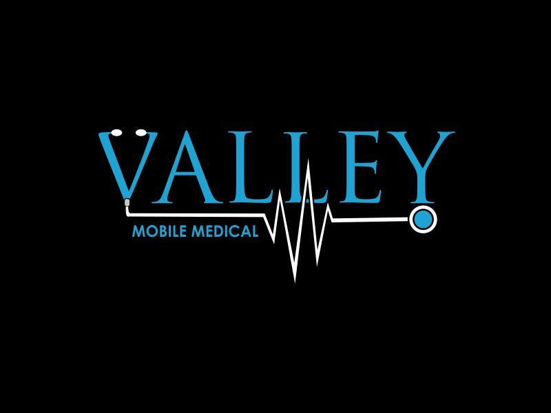 Valley Mobile Medical logo design by giphone