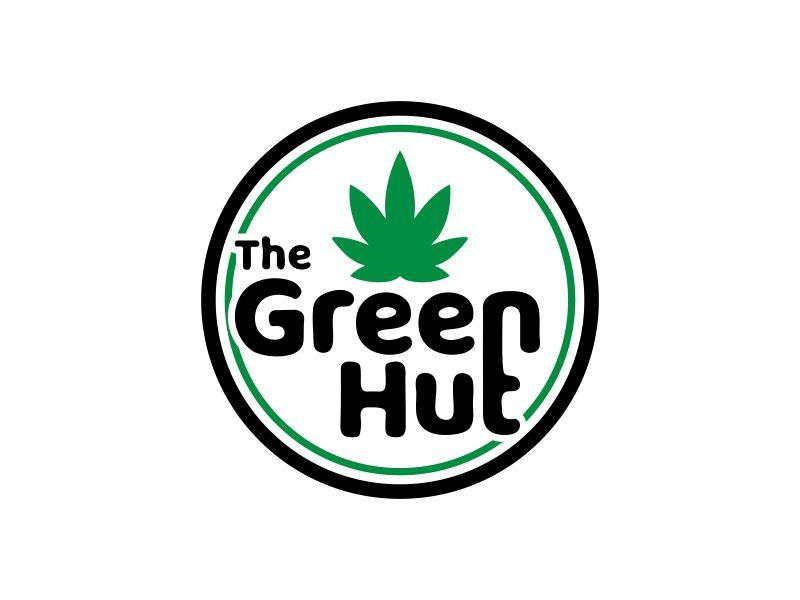 The Green Hut logo design by ubai popi