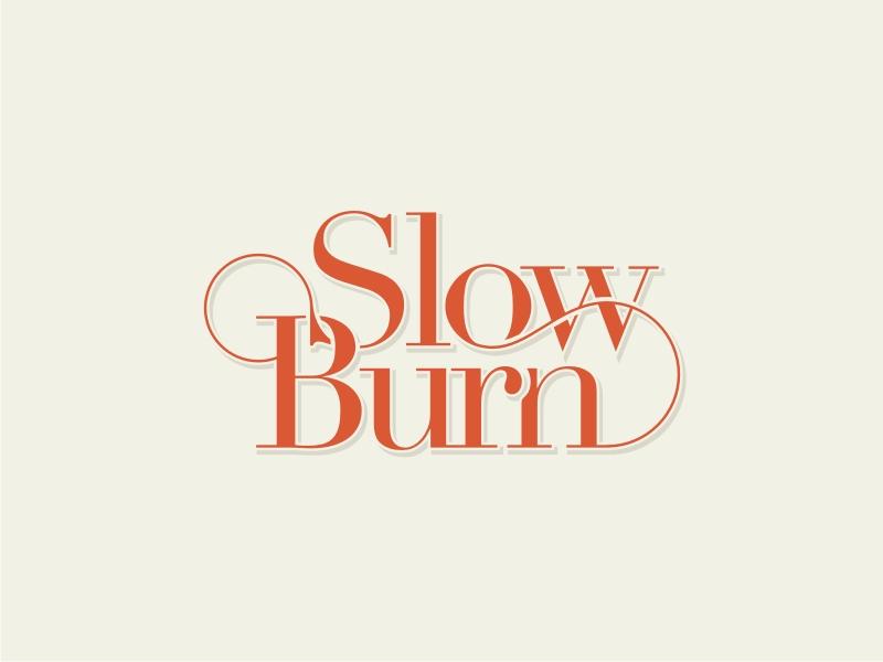 Slow Burn logo design by GemahRipah