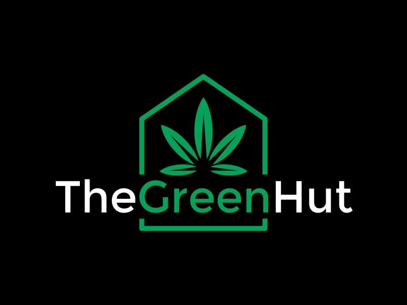 The Green Hut logo design by Dhieko