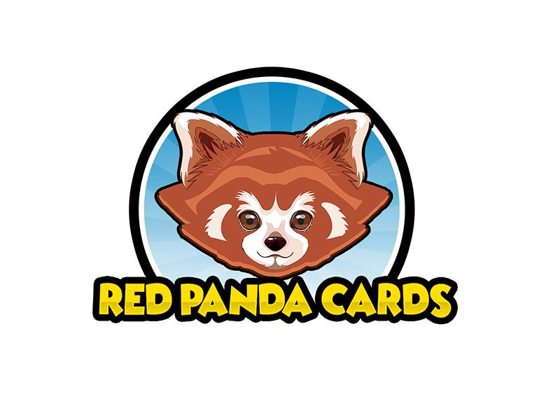 Red Panda Cards logo design by PrimalGraphics