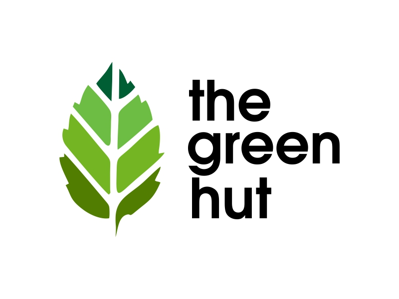 The Green Hut logo design by JessicaLopes