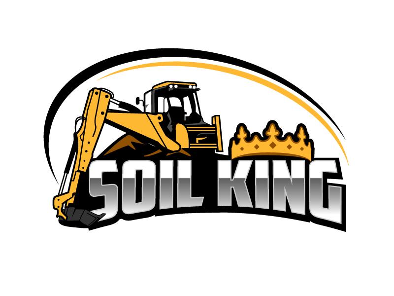 Soil King logo design by aRBy