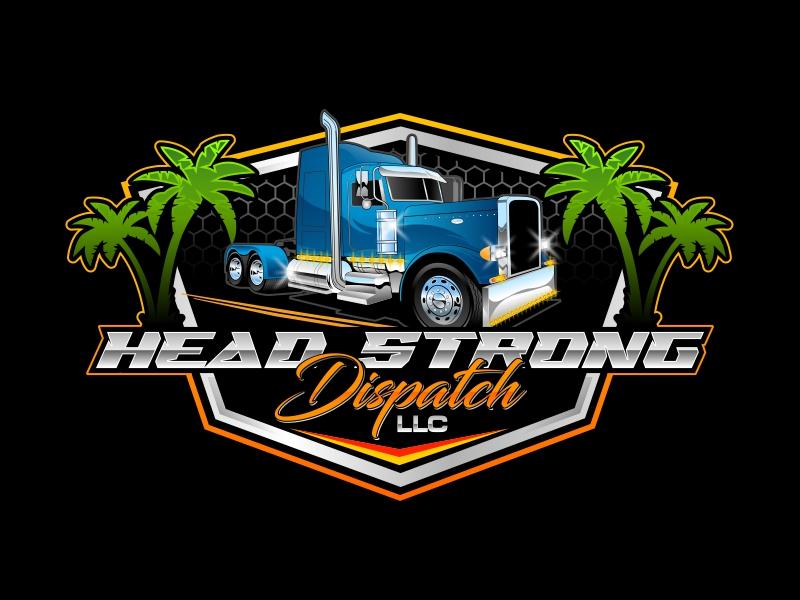 Head Strong Dispatch LLC. logo design by rizuki