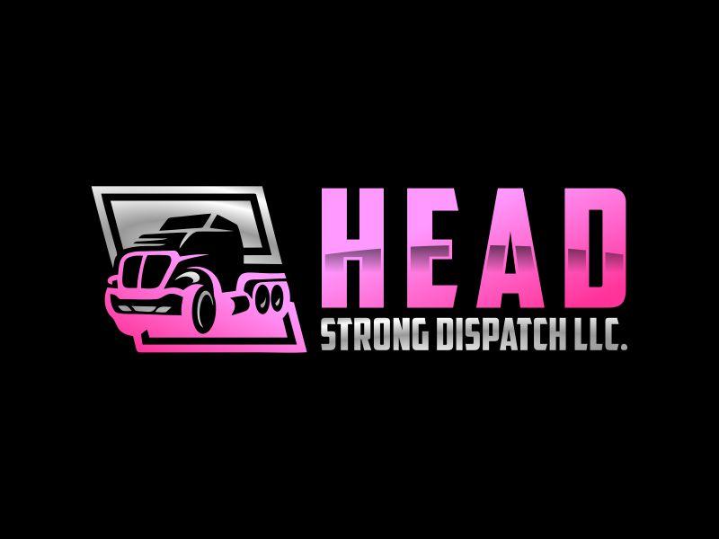 Head Strong Dispatch LLC. logo design by Gwerth