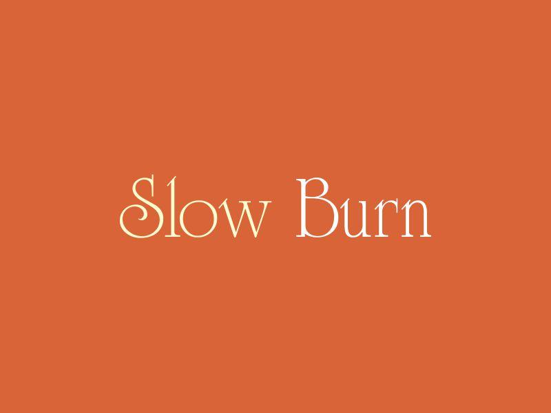 Slow Burn logo design by oke2angconcept