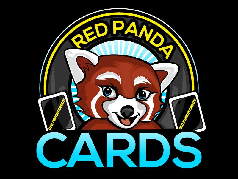 Red Panda Cards logo design by Suvendu