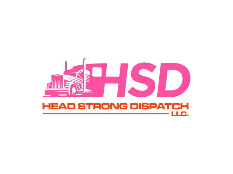 Head Strong Dispatch LLC. logo design by azizah
