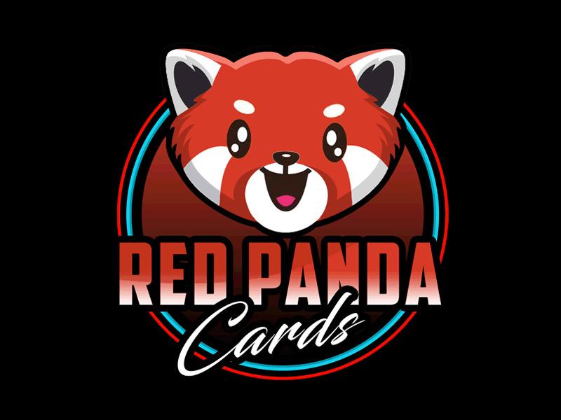 Red Panda Cards logo design by Bananalicious
