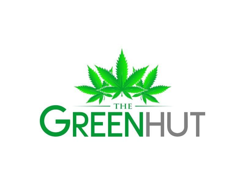 The Green Hut Logo Design