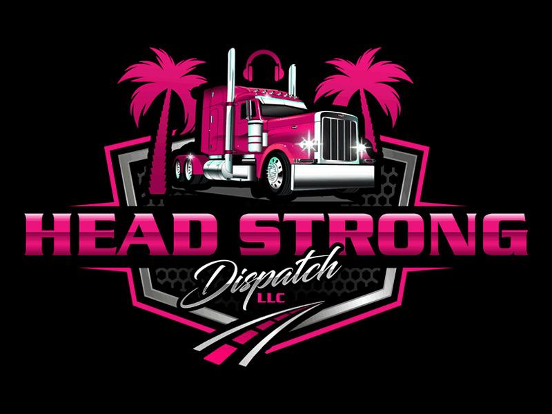 Head Strong Dispatch LLC. logo design by Bananalicious