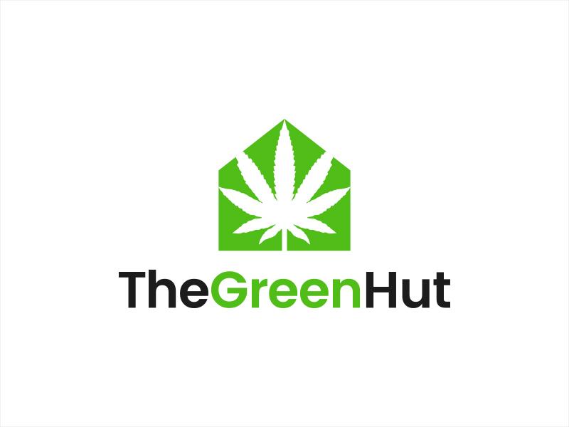 The Green Hut logo design by lexipej