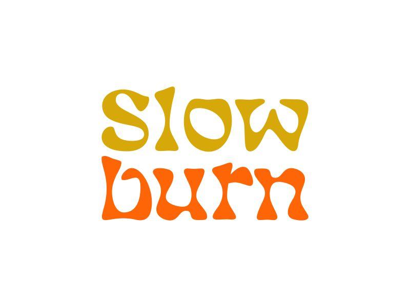 Slow Burn logo design by done