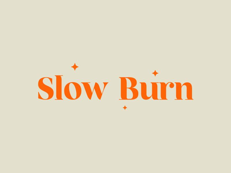 Slow Burn logo design by GfxLady