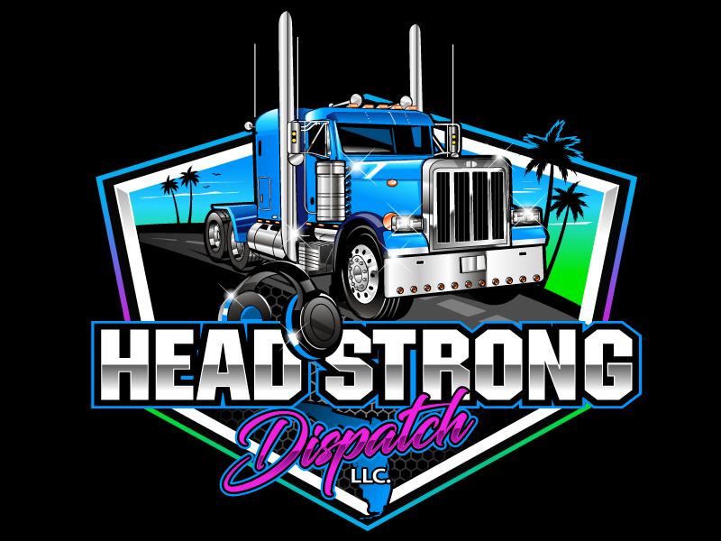 Head Strong Dispatch LLC. logo design by uttam