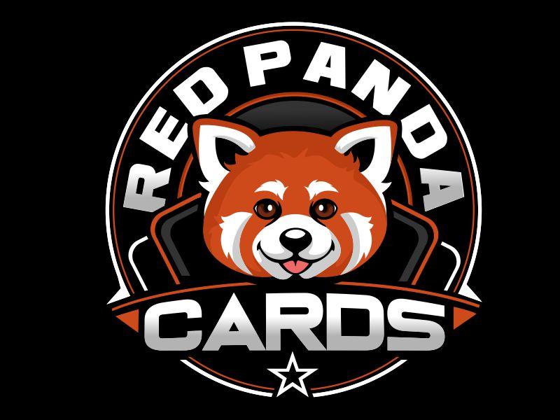 Red Panda Cards logo design by veron