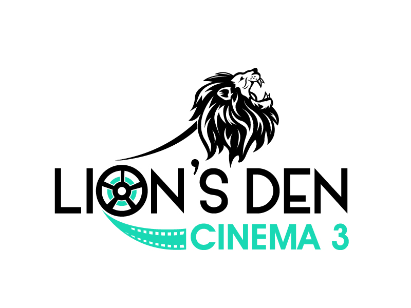 Lion's Den Cinema 3 logo design by PMG