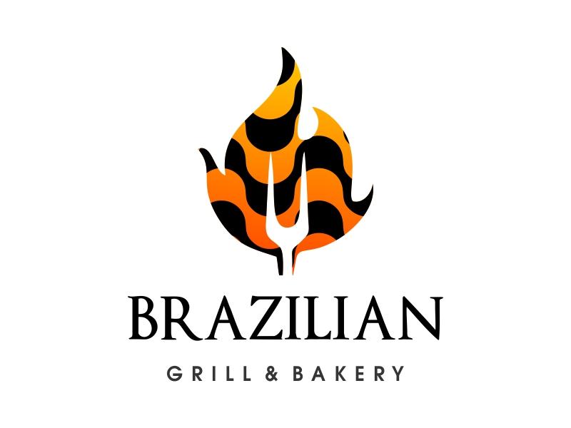 Brazilian Grill & Bakery logo design by JessicaLopes
