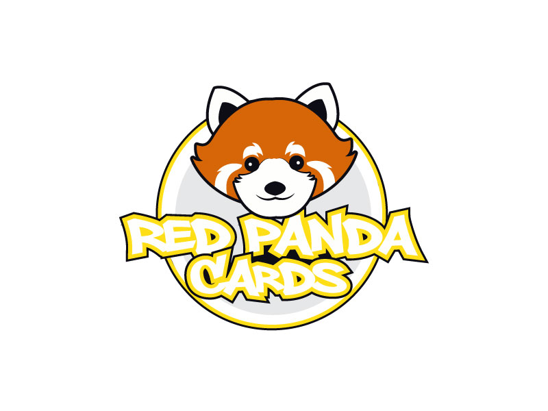 Red Panda Cards logo design by LogoInvent