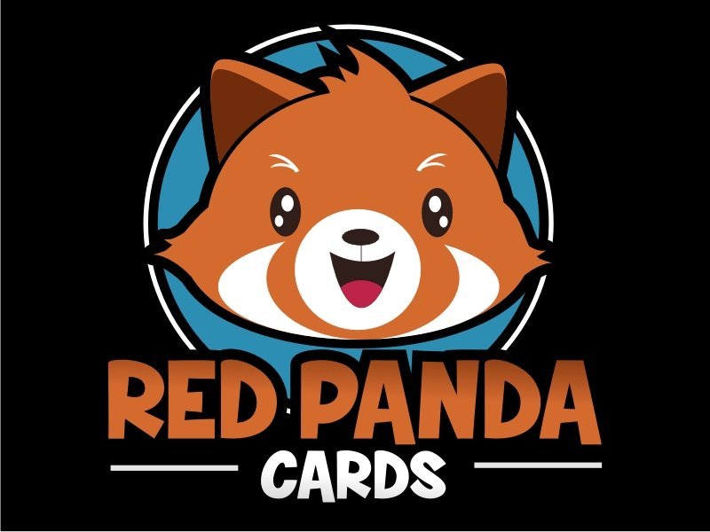Red Panda Cards logo design by coco