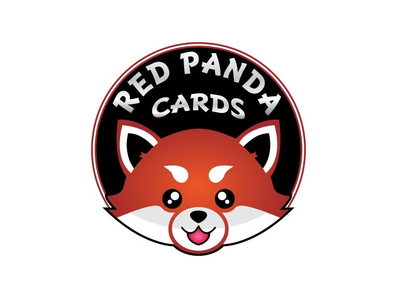 Red Panda Cards logo design by Ryan Prapta Putra