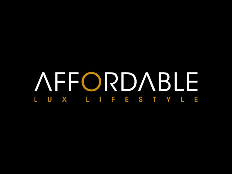Affordable Lux Lifestyle logo design by denfransko