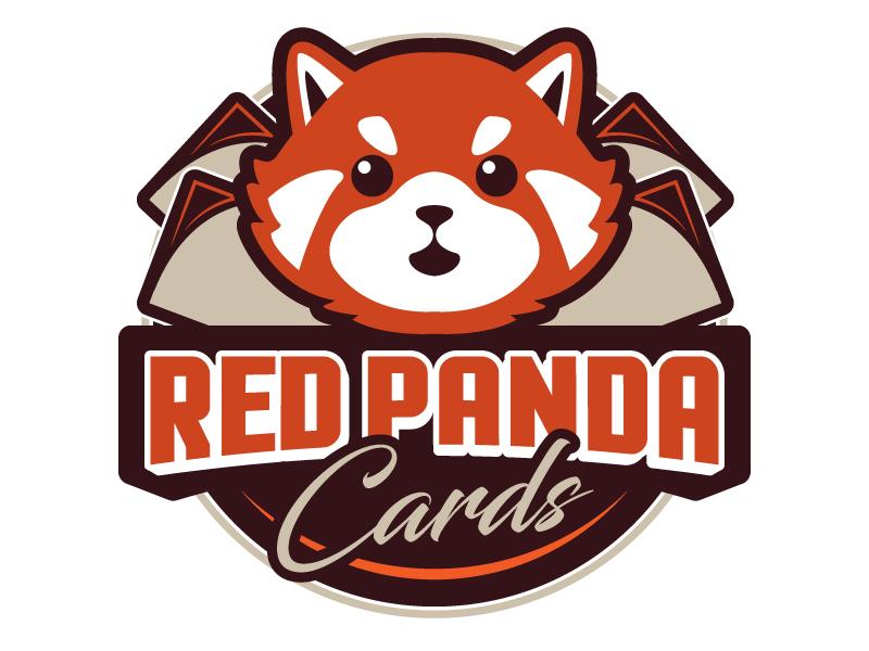 Red Panda Cards logo design by jaize