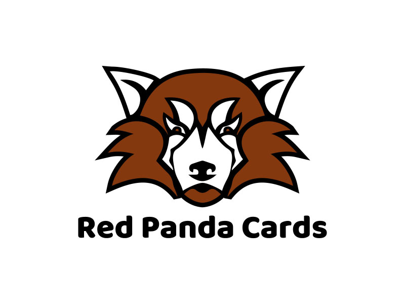 Red Panda Cards logo design by nona