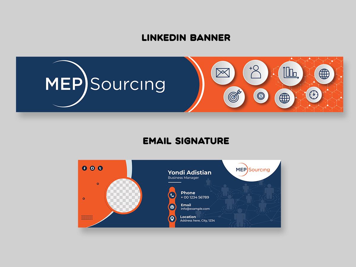 MEP Sourcing logo design by yondi