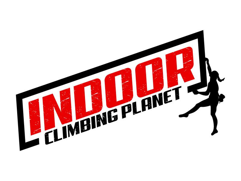 Indoor Climbing Planet logo design by Suvendu