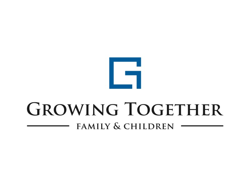 Growing Together Family & Children logo design by Inaya