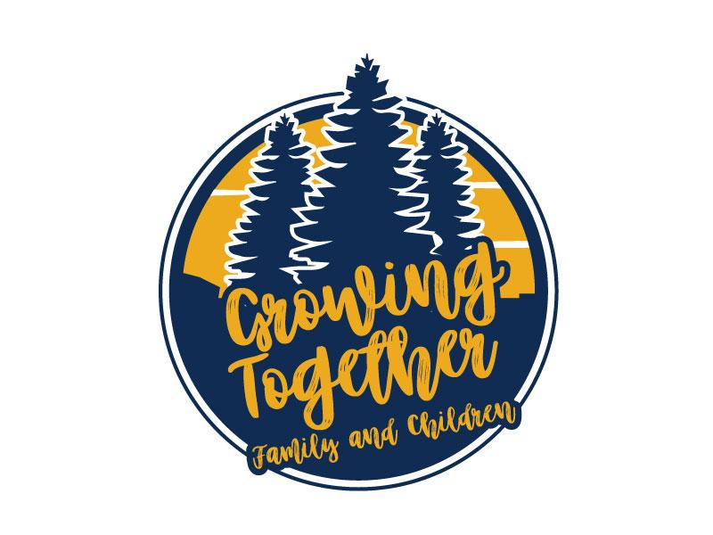 Growing Together Family & Children logo design by ElonStark
