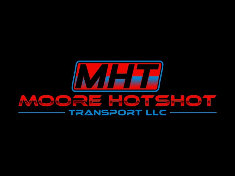 Moore Hotshot Transport LLC logo design by luckyprasetyo