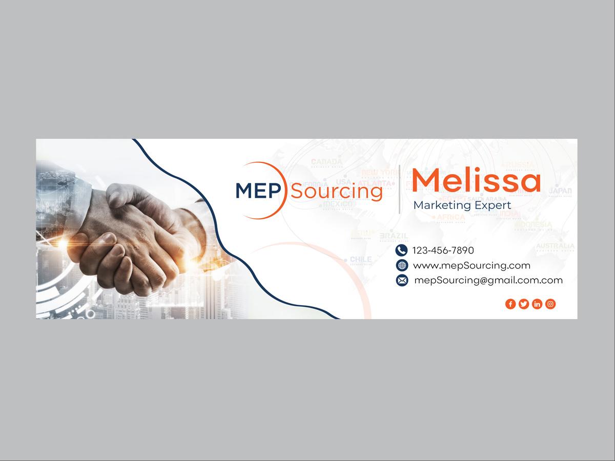 MEP Sourcing logo design by grea8design