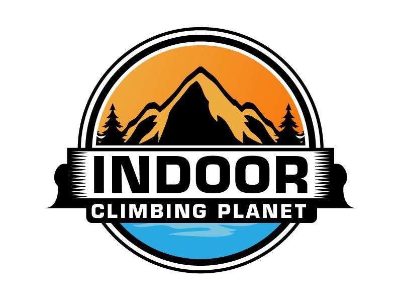 Indoor Climbing Planet logo design by ElonStark