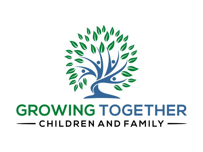 Growing Together Family & Children logo design by cintoko