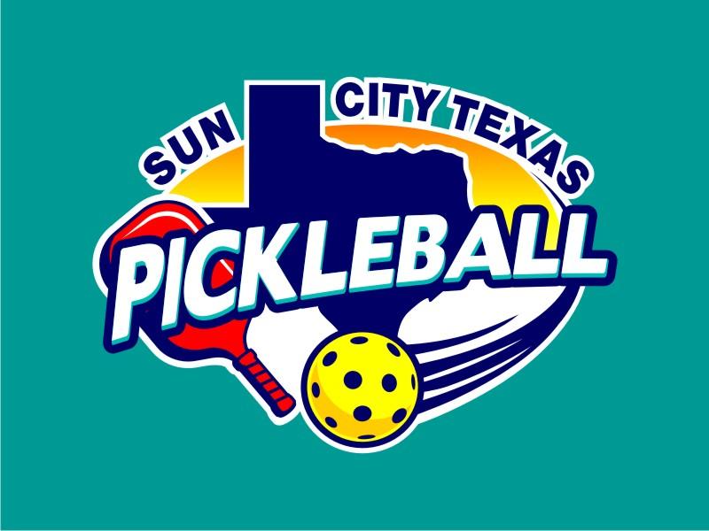 Sun City Texas Pickleball Club logo design by haze