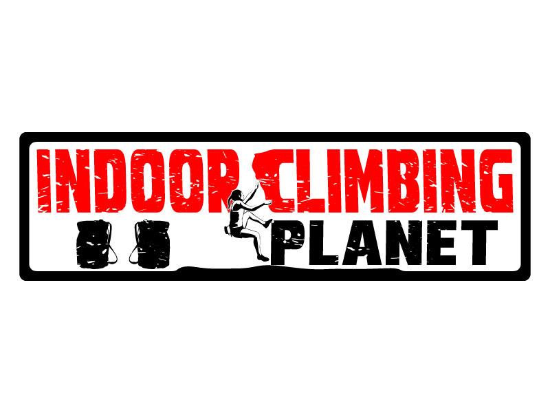 Indoor Climbing Planet logo design by LogoQueen