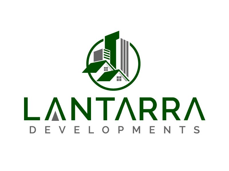 Lantarra Developments logo design by jaize