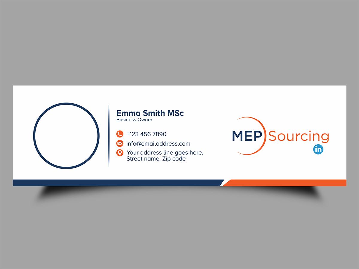 MEP Sourcing logo design by Thuwan Aslam Haris